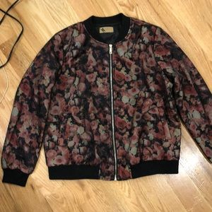 Floral bomber jacket from LF
